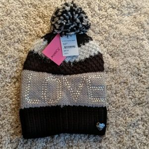 NWT Betsy Johnson winter hat.